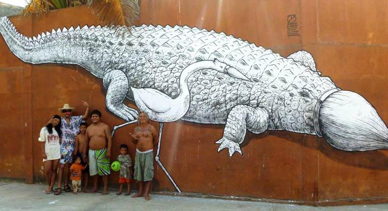 El Devenir - Le street art par LIQEN
