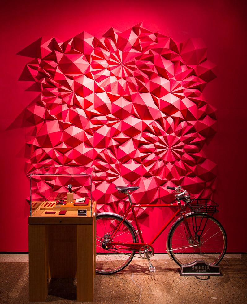 Gorgeous Geometric Paper Sculptures by Matthew Shlian
