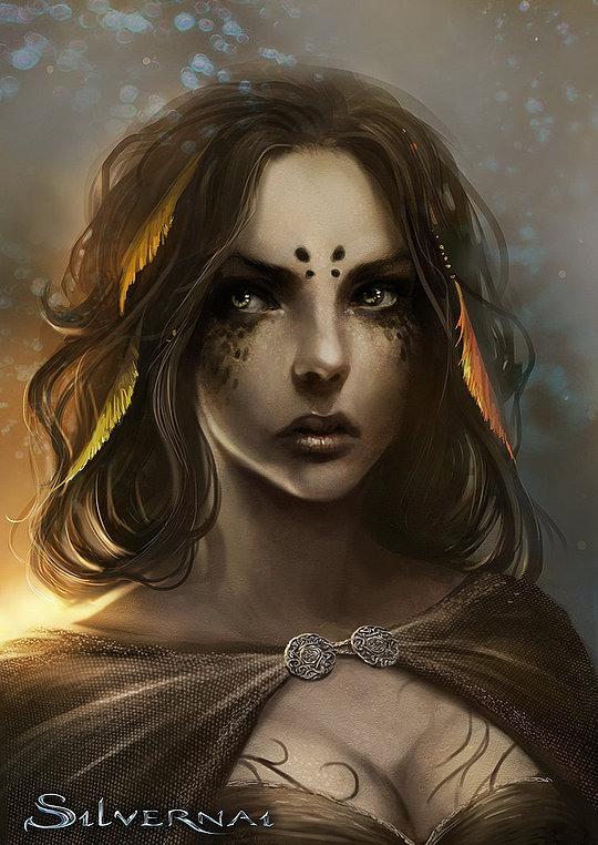 Stunning Fantasy Illustrations by Sandra Duchiewicz
