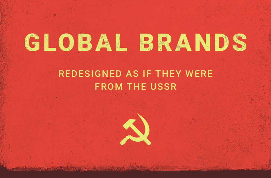 Brands Redesigned in Soviet Style