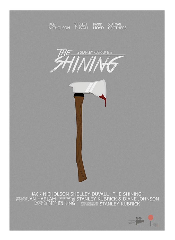 Posters de filmes inspirados nas armas usadas