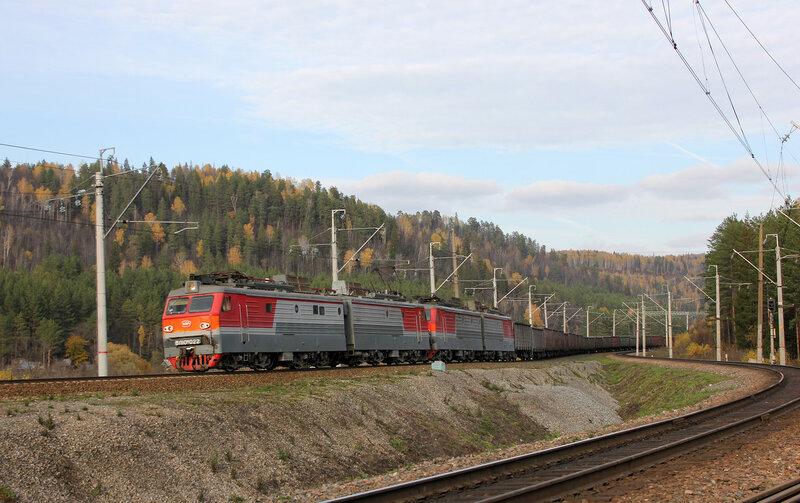 ВЛ10УК-022 на перегоне Симская - Биянка