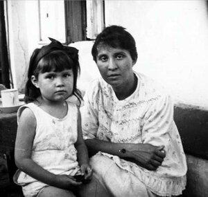 А.Н. Авдонина с дочерью