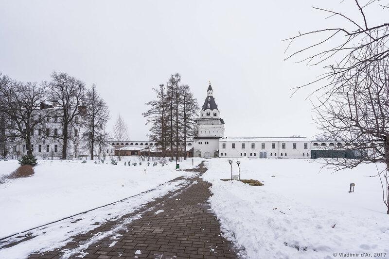Германова башня (1677-1688 гг.). Иосифо-Волоцкий монастырь.