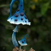 синий мухомор