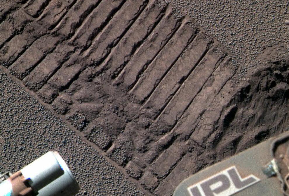 Марсоход «Opportunity» направил свою панорамную камеру