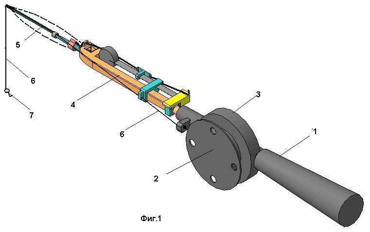 Механический хлыстик для зимней удочки. Охотник и Рыболов