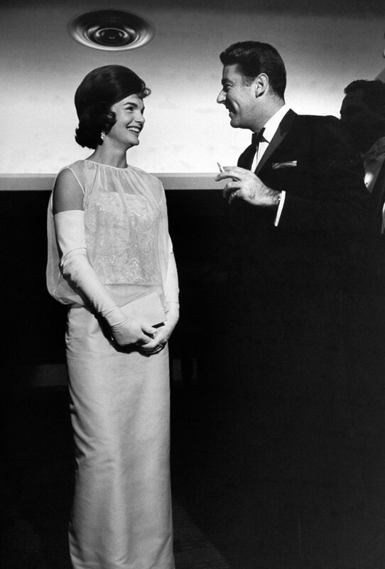 Jacqueline Kennedy And Peter Lawford