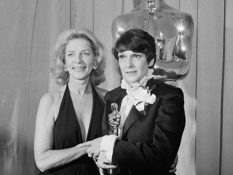 Lauren Bacall    and   Theoni V. Aldredge