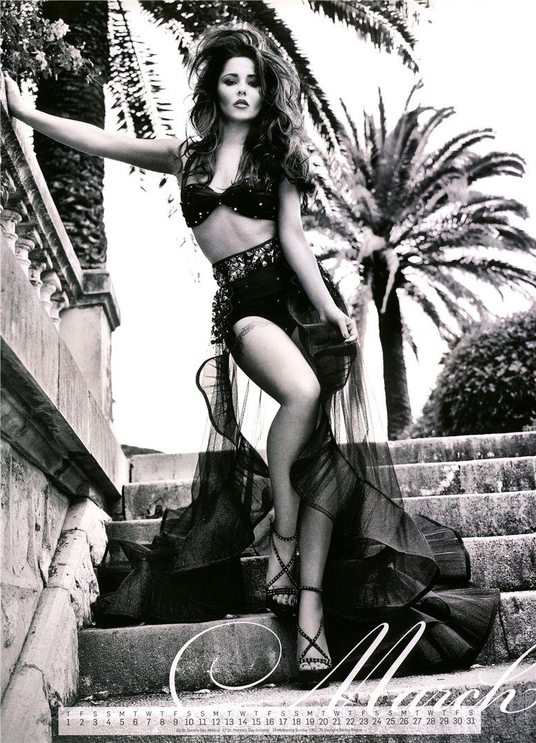 Cheryl Cole / Шерил Коул - календарь на 2012 год