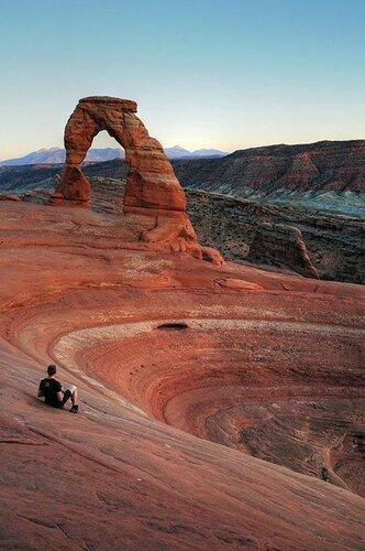 Шедевры природы - арочный парк в Юте