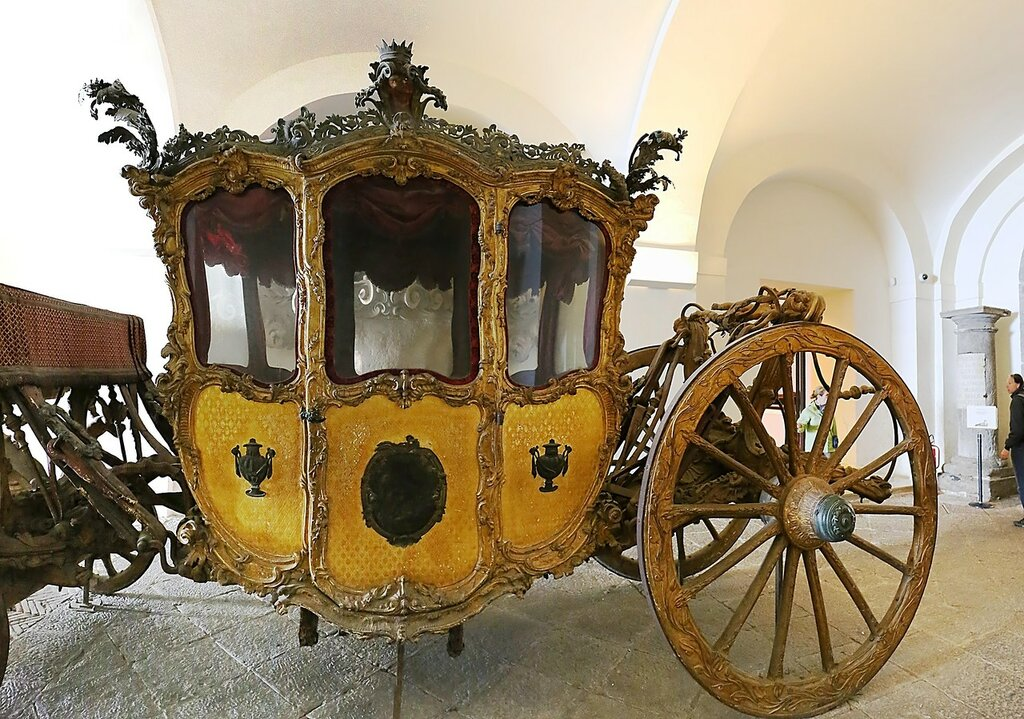 Naples. Museum Of San Martino. Royal carriages