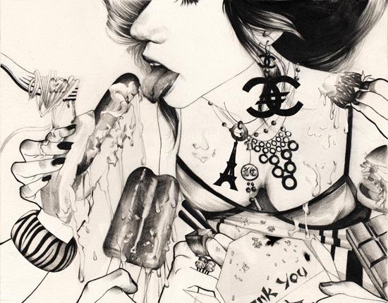 Графика Джона Райана Солиса