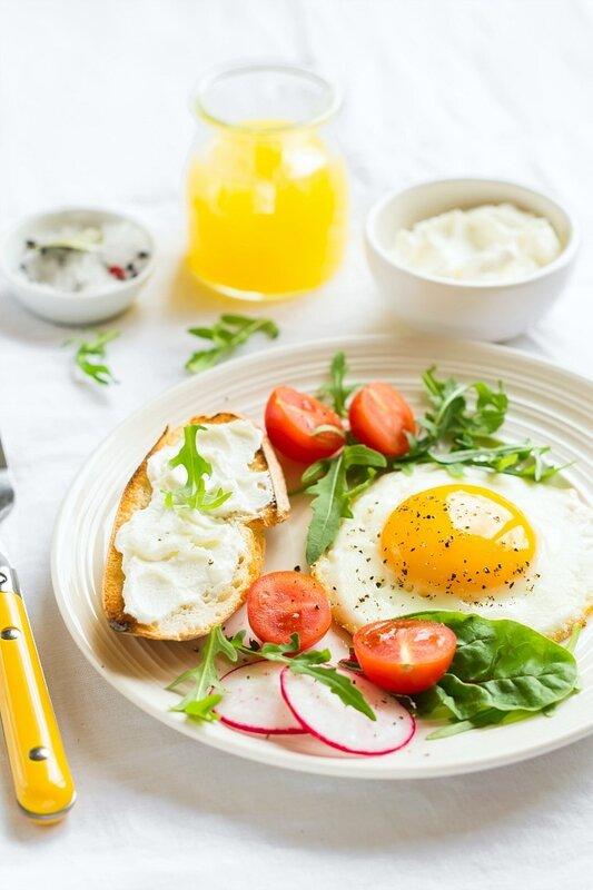 завтрак...