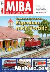 Журнал MIBA Die Eisenbahn im Modell - Juli 2014