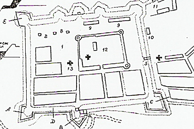 К концу XVIII века кремль