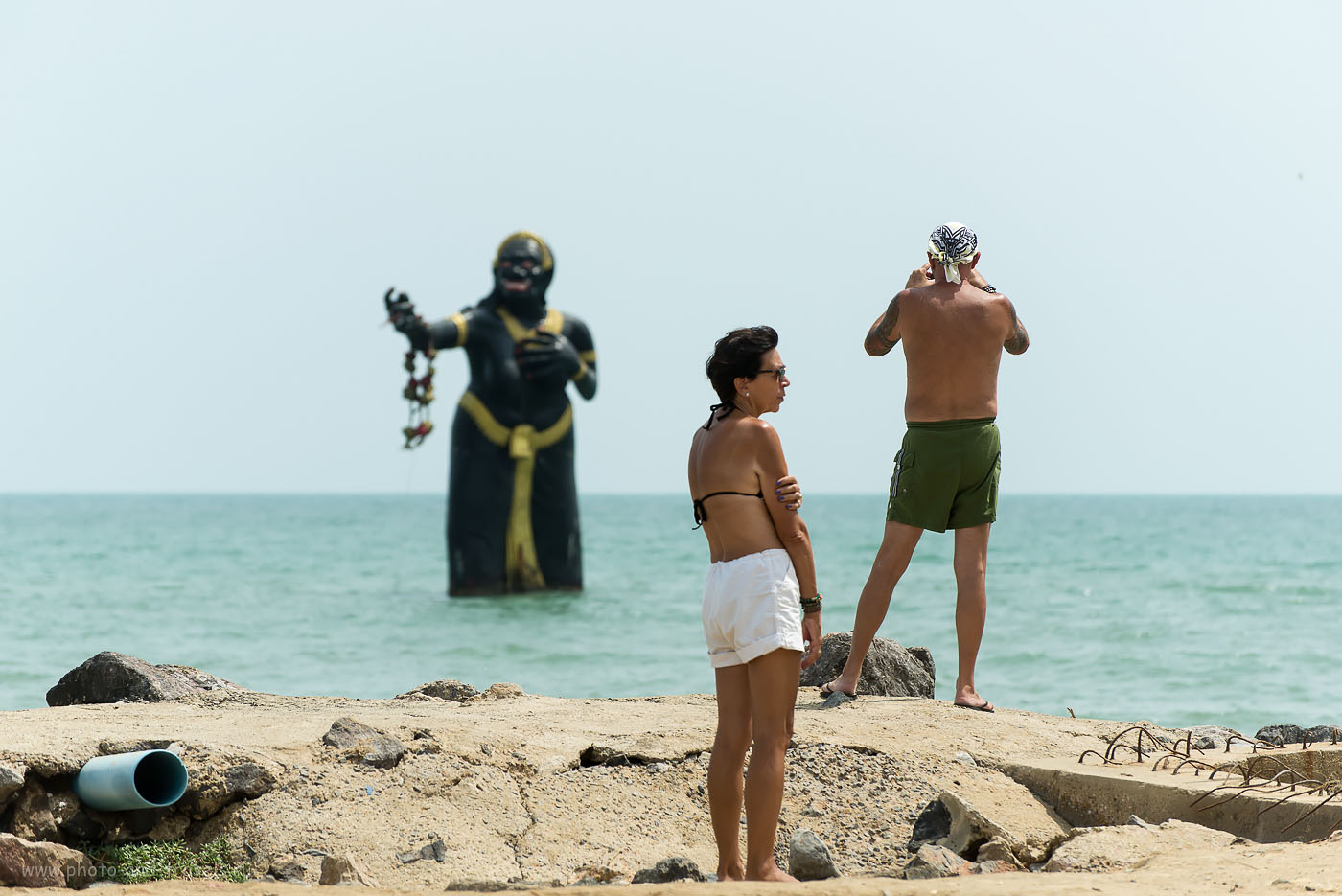 Фотография 15. Фотосессия с Черной Бабищей. Интересные места недалеко от Хуахина. Поездка на автомобиле по Таиланду.