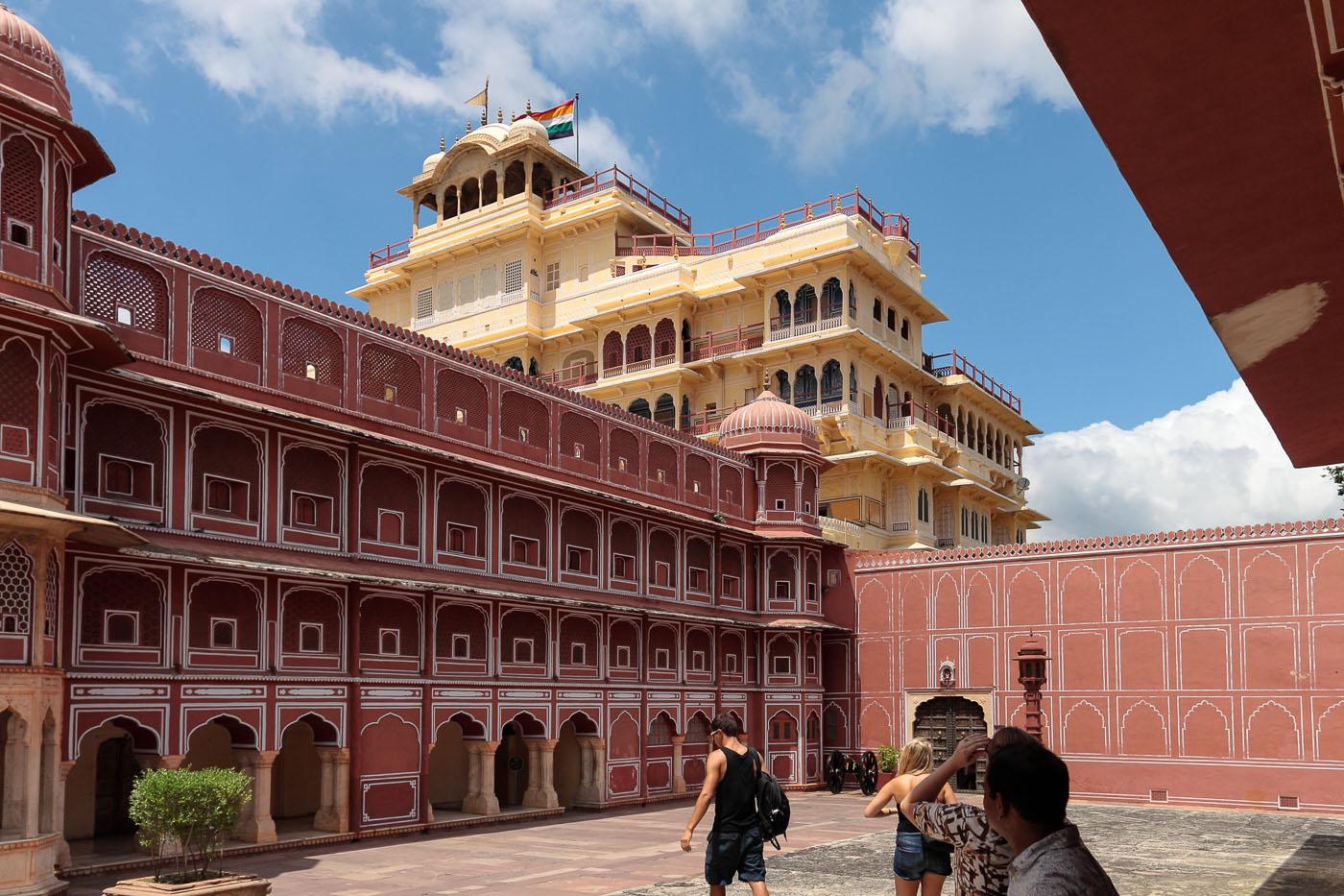 Фото 22. Во Дворце Махараджи. Как мы ездили в Джайпур. Отчет о путешествии по Индии