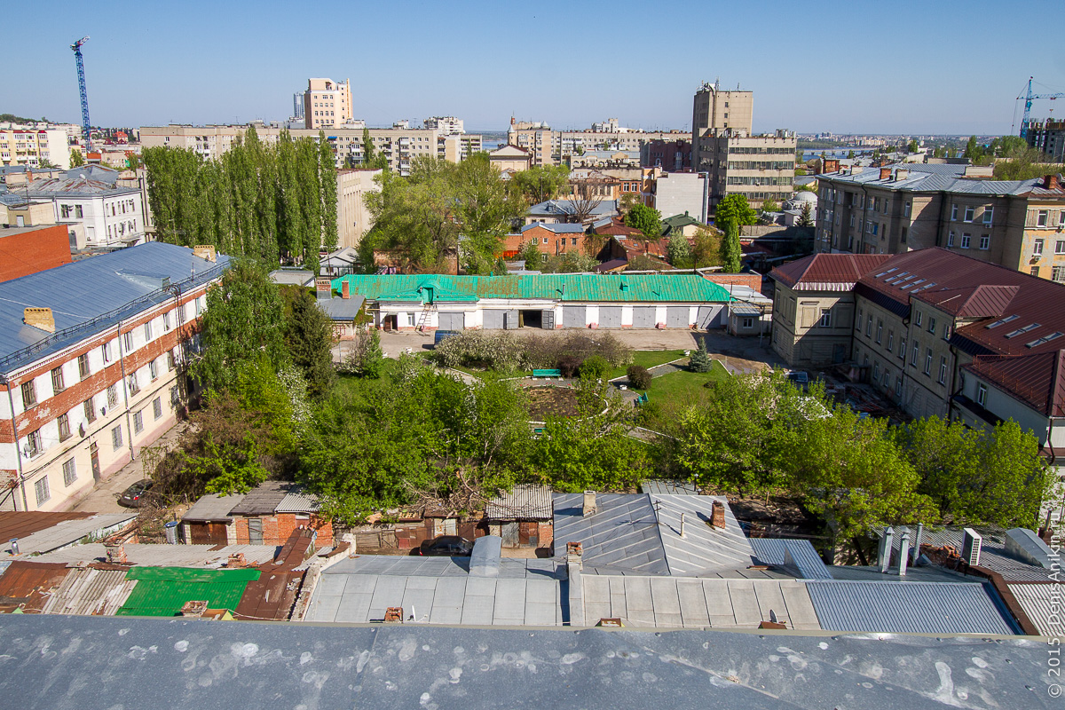 Крыша СГАУ 26