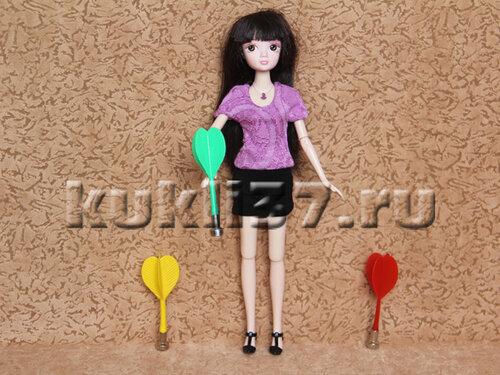 облегающая кофточка для Барби
