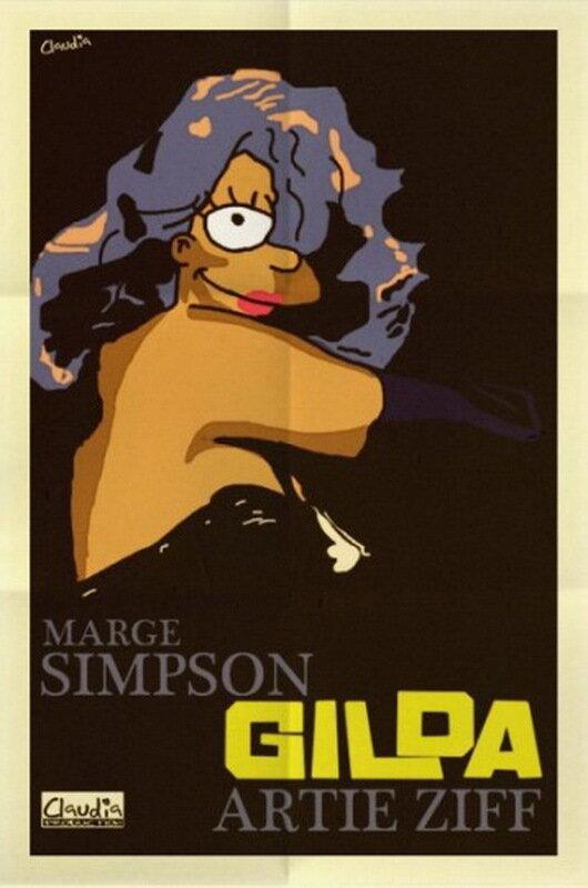 Симпсоны на киноафишах