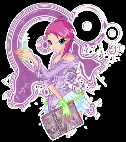 Конкурс Винкс и картинки winx и аниме с игрой макияж русалки!