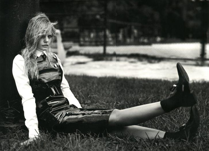 модель Марлос Хорст / Marloes Horst, фотограф Patrik Sehlstedt