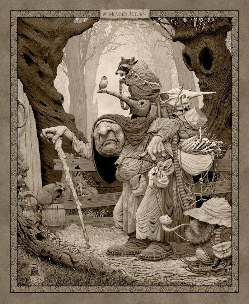Fantasy  art by Ed Binkley