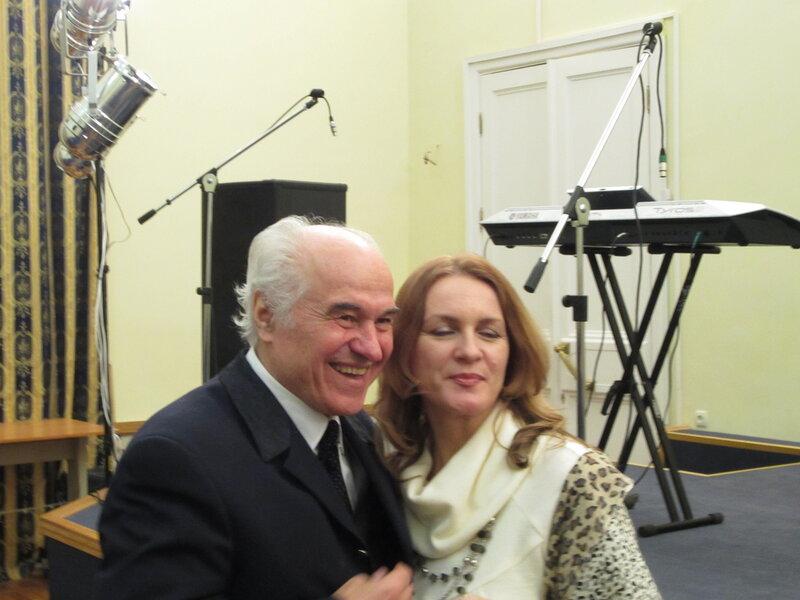 Евгений Дога и Маргарита Майская