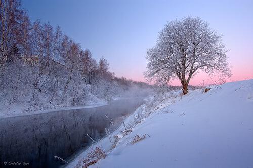 Морозное дыхание утра.
