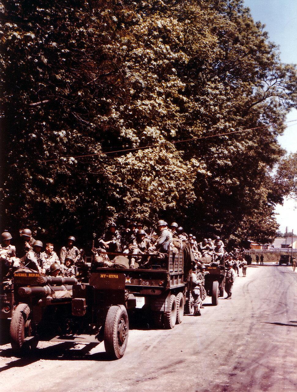 03. Великобритания. Погрузка на корабли в начале июня 1944. Операция Оверлорд
