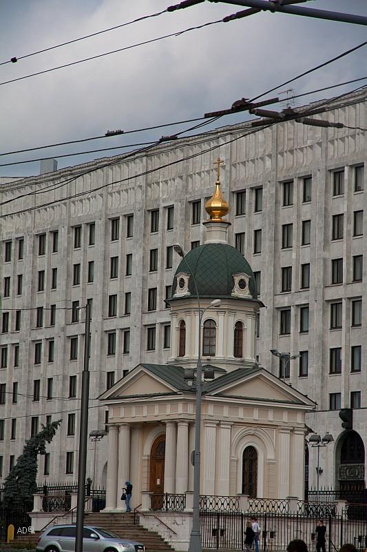 Часовня Бориса и Глеба на Арбатской площади