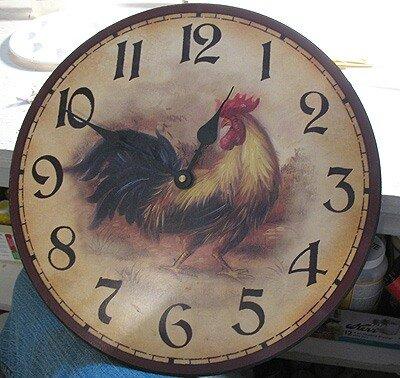 настенные часы своими руками