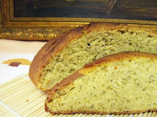 пшенично-кукурузный пряный хлеб