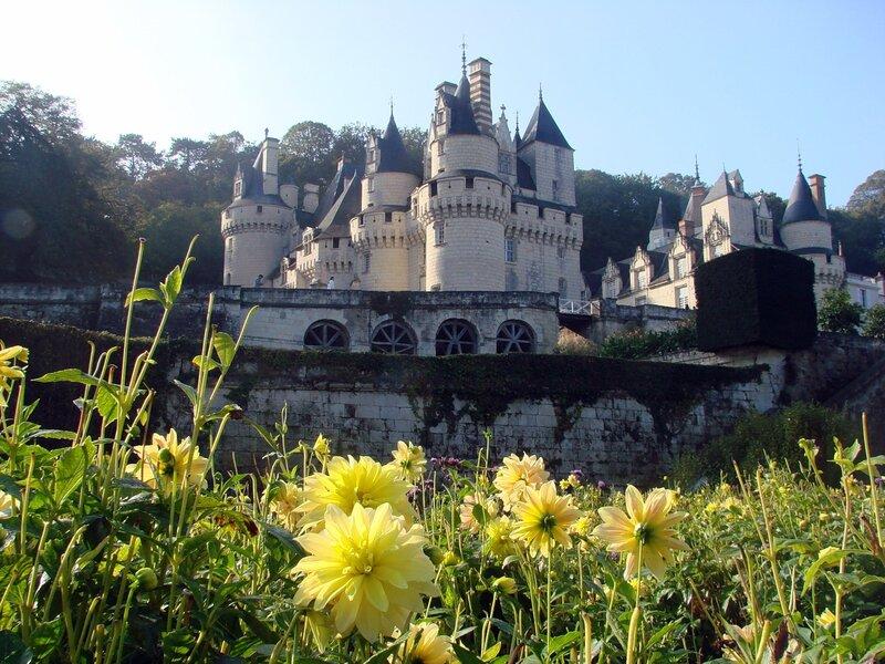 Замки долины Луары, Юссе - замок Спящей красавицы