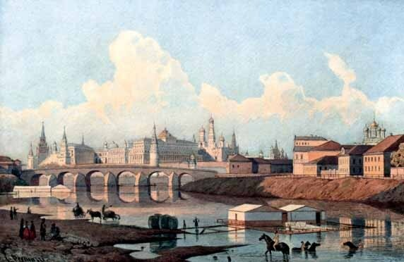 Людвиг Осипович ПРЕМАЦЦИ  (1814—1891). 1850-е.