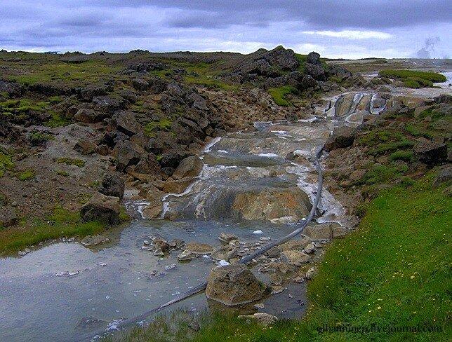 гейзер река Hvitarnes