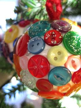 Новогодний шар из ниток и воздушных шаров