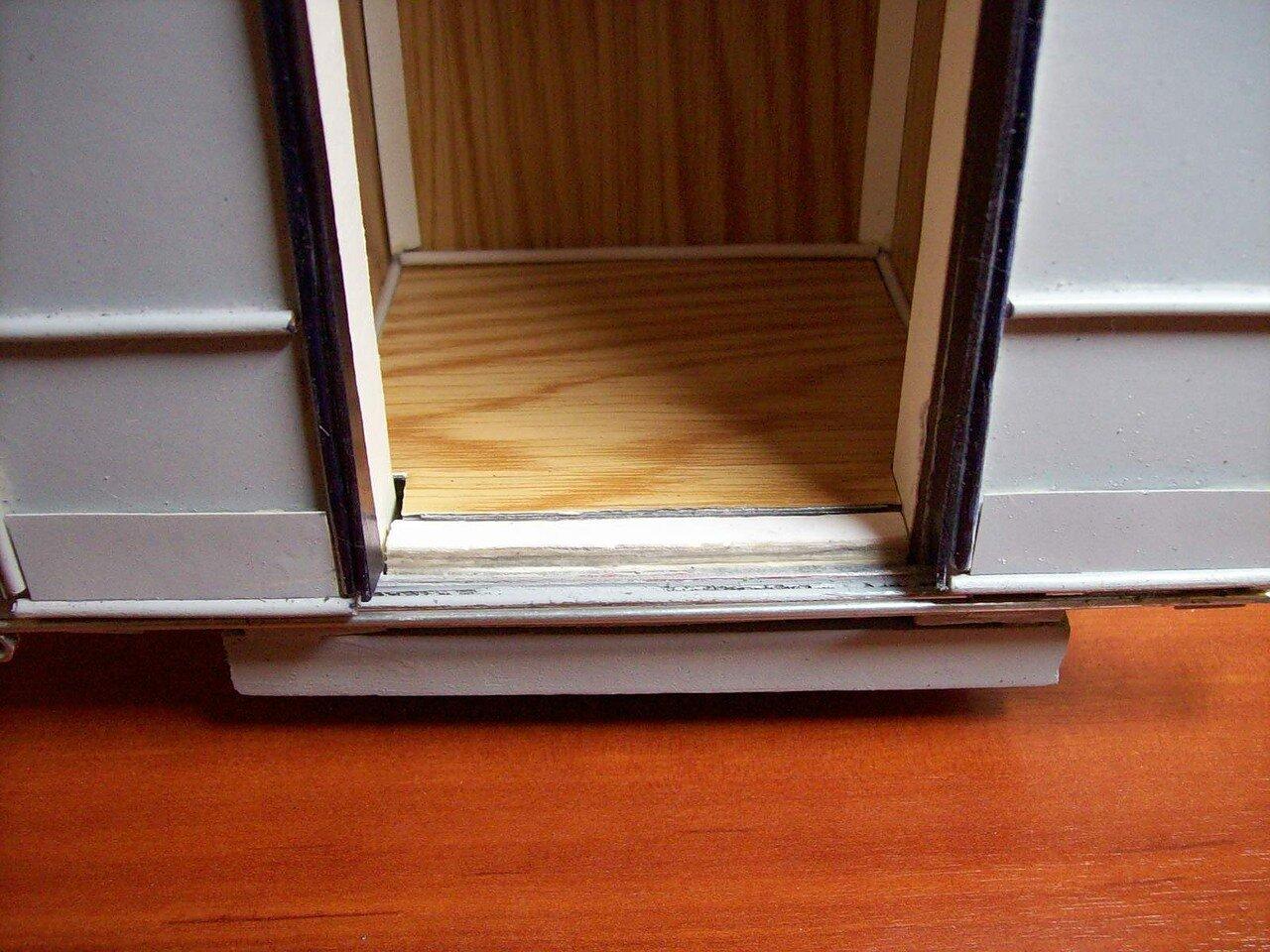 Как сделать порог в квартире