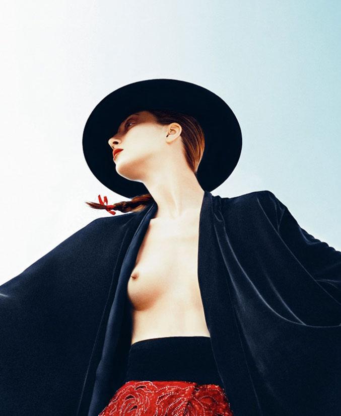 модель Алана Циммер / Alana Zimmer, фотограф Txema Yeste
