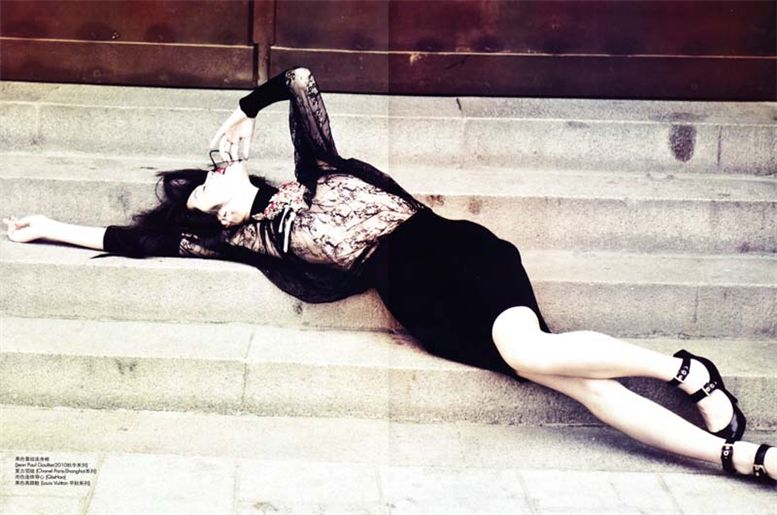 модель Ming Xi / Минг Кси, фотограф Liang Zi