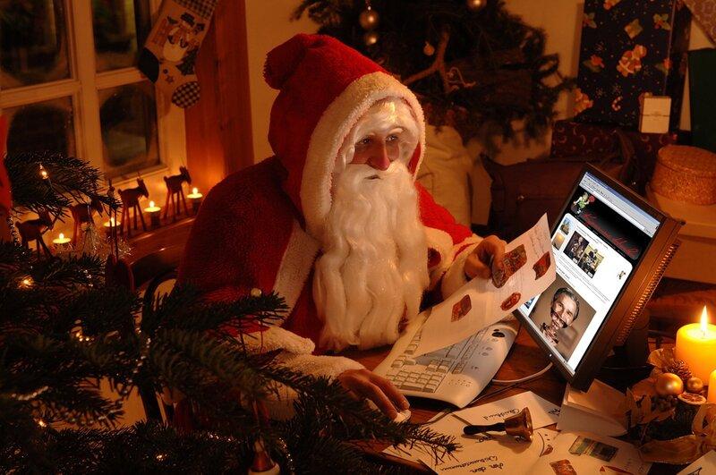 Дед Мороз и Красные Носки / Santa Claus and Red Sox