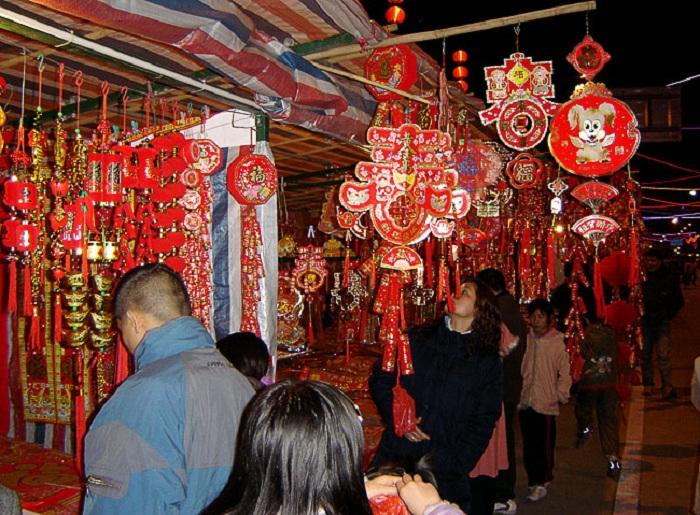 Жители Китая сегодня встретят Новый год