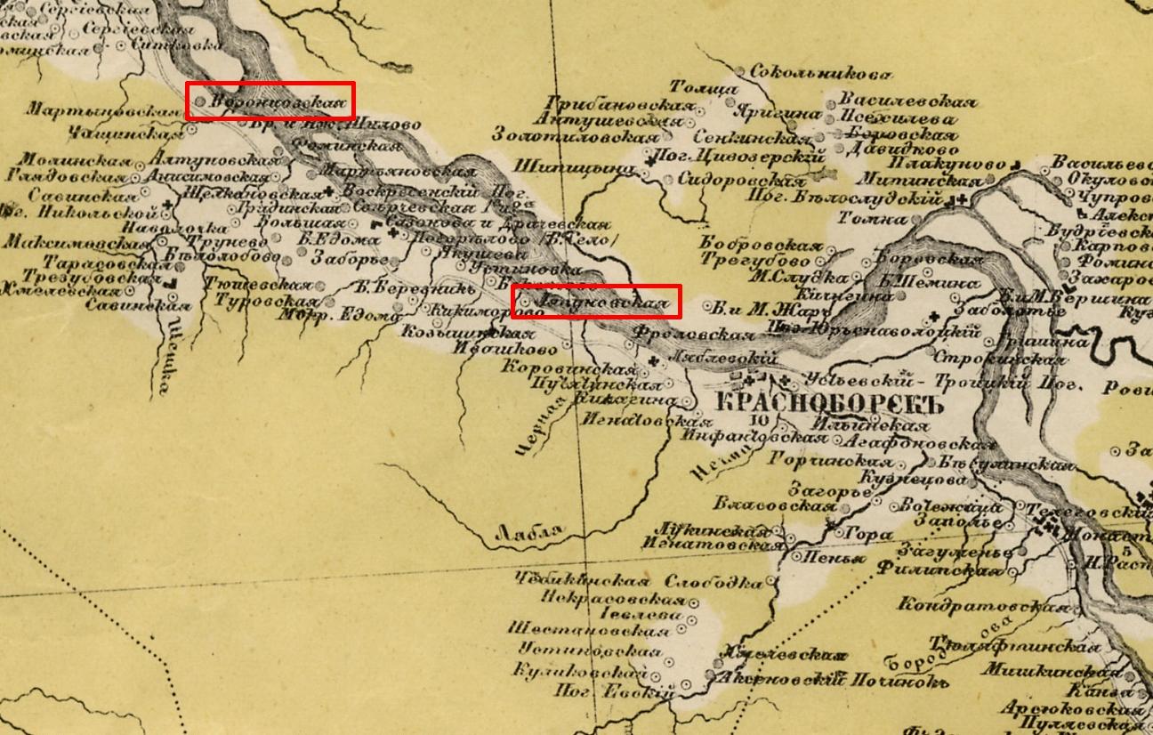Карты стрельбицкого с привязкой - 490a