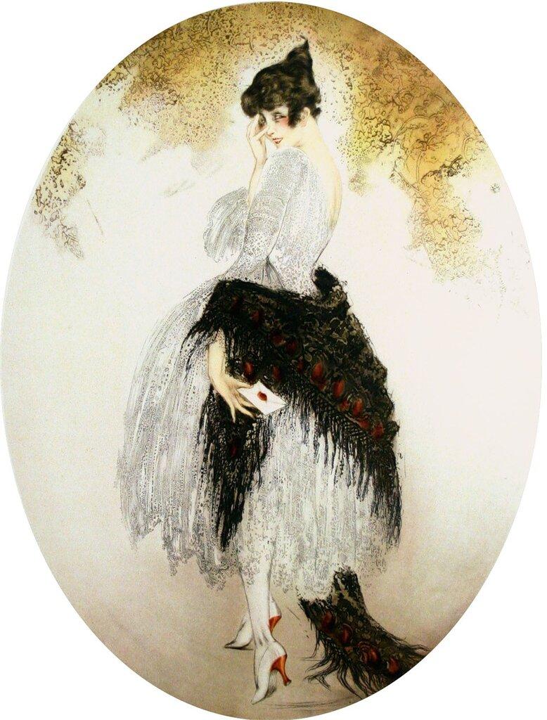 иллюстрации Louis Icart