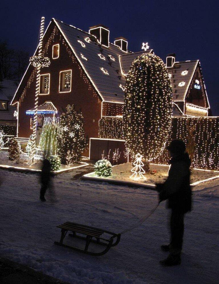 Рождественские огни мира