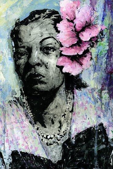 иллюстратор Rich Pellegrino.Billie Holiday