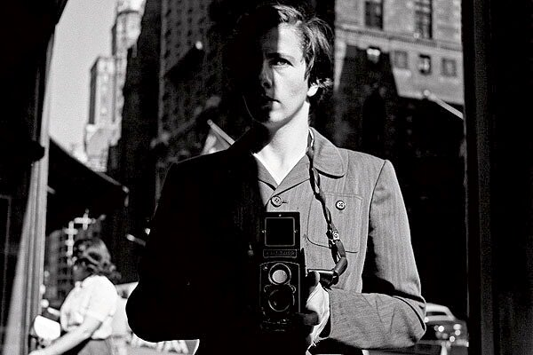 A self portrait by Vivian Maier