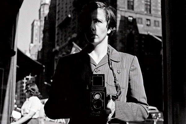 A self portrait by Vivian Maier