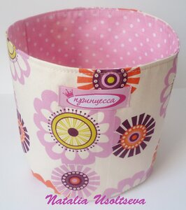 коробочка текстильная